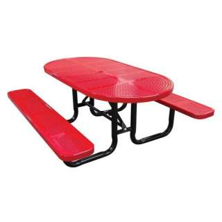 Metal Commercial Grade Picnic Table