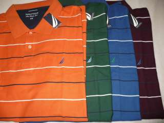 NEW NWT NAUTICA MENS BIG & TALL POLO SHIRT SZ SIZE 4X 5X 6X S/S 100%