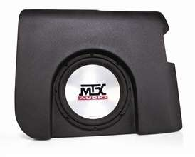 AMPLIFIED MTX ThunderForm Silverado Crew Cab Sub Box
