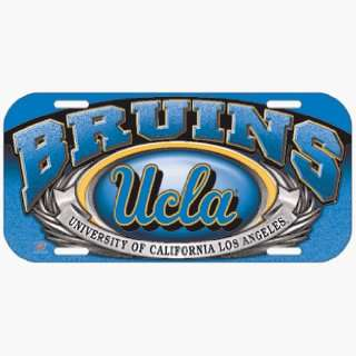 NCAA UCLA Bruins High Definition License Plate Sports