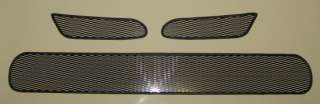 08 MITSUBISHI ECLIPSE BLACK MESH GRILLE GRILL TOP AND BOTTOM INSERTS
