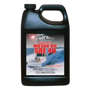 Star Brite SAE 40 Pro Super Premium Heavy Duty Motor Oil (1 Gallon