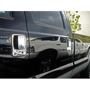 F250/350/450 SUPER DUTY 99 08 4DR CHROME HANDLE COVERS