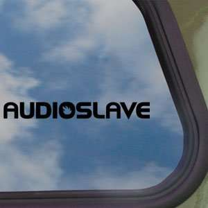 Audioslave Black Decal Truck Bumper Window Vinyl Sticker