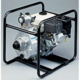 Tsurumi 1.5, 5.5 HP Honda Engine Driven High Pressure Pump at
