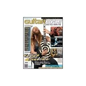 Guitar Edge Magazine Back Issue   July/August 2006