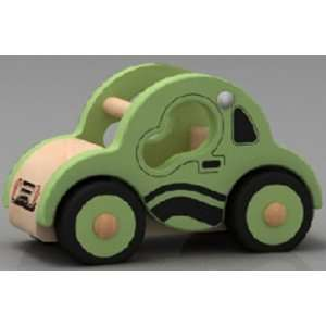 mini wooden car toys for kid wooden toys Toys & Games