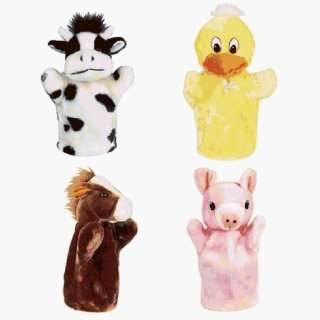 Special Populations Toys Animal Hand Puppets