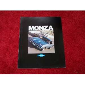 1977 CHEVROLET MONZA Sales Brochure Literature Book
