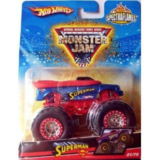 Hot Wheels Monster Jam Truck 2009 SPECTRAFLAME 164 Scale SUPERMAN #21