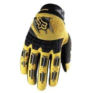 Fox Racing Youth Dirtpaw Gloves   2007   Medium/Yellow Automotive