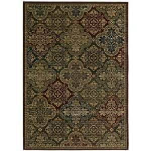 Tommy Bahama Moroccan Mosaic Area Rug, 2.6 Feet by 7.9 Feet, Multi