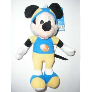 Disney 10 Football Mickey Mouse Plush Doll Toy Toys & Games