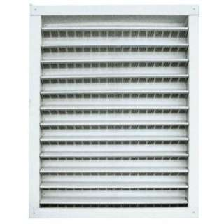 Master Flow 18 In. X 24 In. Aluminum Wall Vent in White DA1824W at The