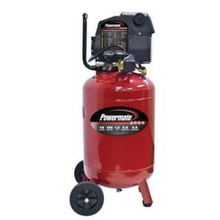 Powermate 10 Gallon Portable Electric Air Compressor with Extra Value