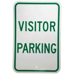 Brady 18 In. X 12 In. Aluminum Visitor Parking Sign 80078 at The Home
