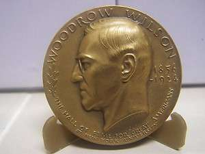 Wilson Medallic Art Hall of Fame for Great Americans Bronze Medal