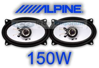 Ford Capri Front Door speakers Alpine 4x6 car speaker