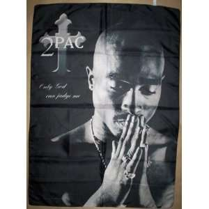 2Pac Shakur 42x30 Inches Cloth Textile Fabric Poster