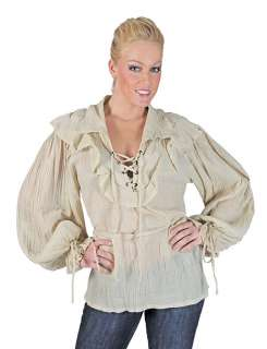 Womens Pirate Costume Shirt   Pirate Costume Accessories