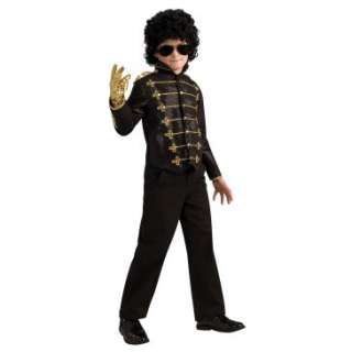 Michael Jackson Deluxe Black Military Child Jacket, 70490