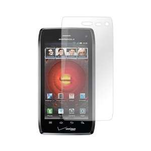 Droid 4 Anti Glare LCD Screen Protector Cover Kit Film Electronics