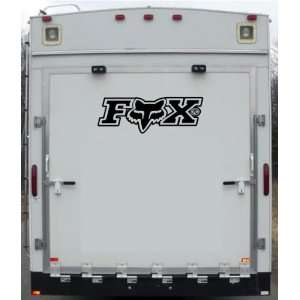 Fox Trailer Toy Hauler Desert Motorcycle Bike Vinyl Decal