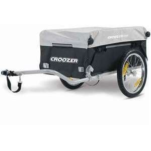 Croozer Cargo Bicycle Trailer   Color Black/Silver