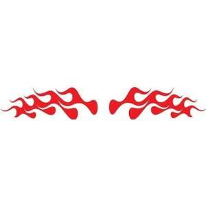 Flames Vinyl Decals Kit 7 Left and Right Car Truck Boat Pick Size And