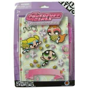 Powerpuff Girls personalized diary with writting pen Toys & Games