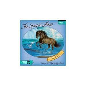 The Spirit of Horses   750 Pieces Jigsaw Puzzle Toys & Games
