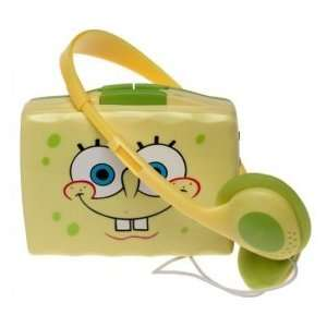 SquarePants Personal Cassette Player   Yellow