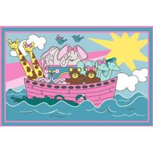 Area Rug Noahs Ark Childs Fun Time Rug FT 104 31 x 47