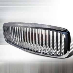 Dodge 2002 2005 Dodge Ram Pick Up Vertical Grille   Chrome