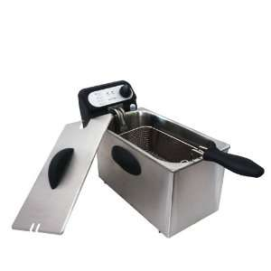 Liter 1500W Stainless Steel Deep Fryer DF30B1N1