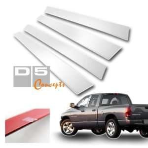 02 07 Dodge Ram Crew Cab Door Pillar Post Trim   Chrome