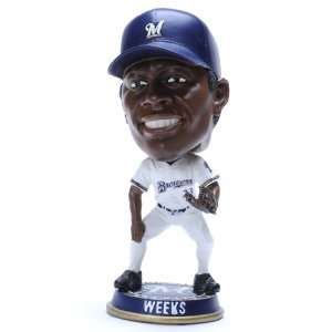 Forever Collectibles 2008 Big Head Bobbers   Ricky Weeks