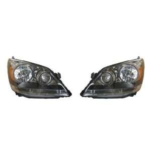 Odyssey Headlights Headlamps Head Lights Lamps Pair Set Automotive