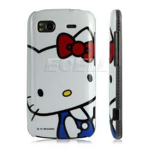 HELLO KITTY HARD BACK CASE COVER FOR HTC SENSATION Cell Phones