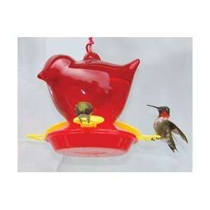 Songbird Red Bird Hummingbird Feeder Patio, Lawn & Garden