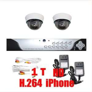 6mm Len for Wide Angle View Indoor Security Cameras