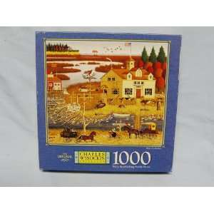 Charles Wysocki 1000 Piece Jigsaw Puzzle Titled, Birds of