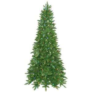 Pre Lit Ashley Spruce Christmas Tree   Multicolor LED Lights