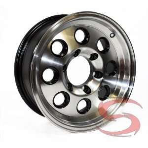 Aluminum and Black Yuma Modular Trailer Rim 6 on 5.50 Automotive