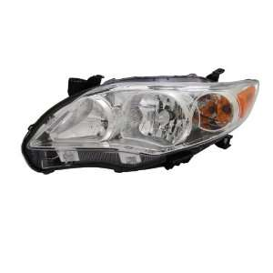TYC 20 9196 00 Toyota Corolla Left Replacement Head Lamp Automotive