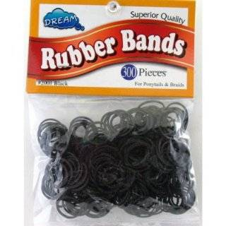 Gold Magic 500 Black Rubber Bands In A Container (GM 00500