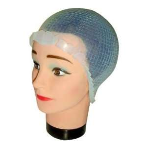 Hair Art Deluxe Silicon Frost Cap Large 1 Cap With Metal
