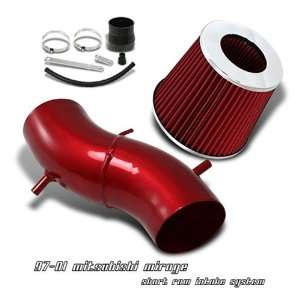 97 98 99 00 01 MITSUBISHI MIRAGE DE LS SHORT RAM AIR FILTER INTAKE