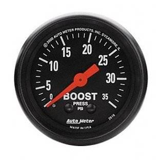 Meter 6104 Cobalt 2 1/16 0 35 PSI Mechanical Boost Gauge Automotive