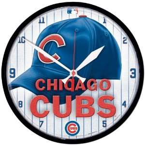 BSS   Chicago Cubs MLB Round Wall Clock
